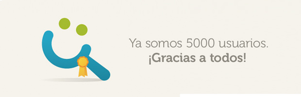 5.000 usuarios | Tiching