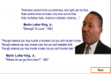 Words by Martin Luther King | Recurso educativo 9090
