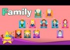 Kids vocabulary - Family - family members & tree - Learn English educational | Recurso educativo 763801