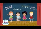 Head Shoulders Knees & Toes (Sing It) | Recurso educativo 768954