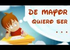 De mayor quiero ser... | Recurso educativo 772172