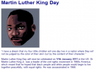 Martin Luther King day | Recurso educativo 39983